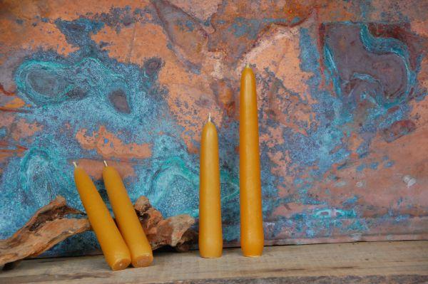 Mittlere Leuchterkerzen Ø 30 mm - natur