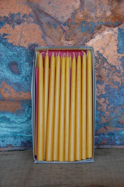 Gesteckkerzen Chanukkakerzen (13 x 240 mm) - natur