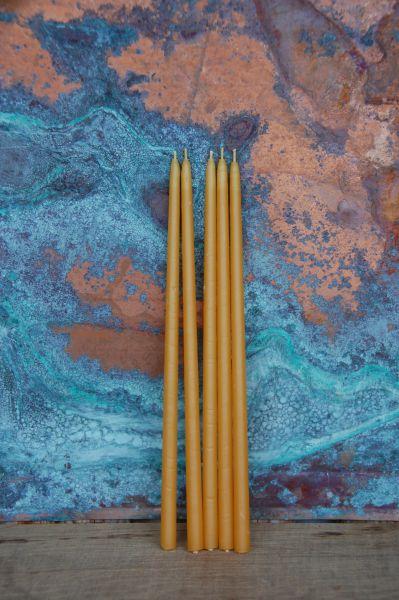 Vigilkerzen / Opferkerzen (9 x 250 mm) - natur