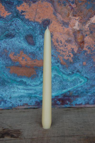 Leuchterkerzen Ø 24 mm - cremeweiß